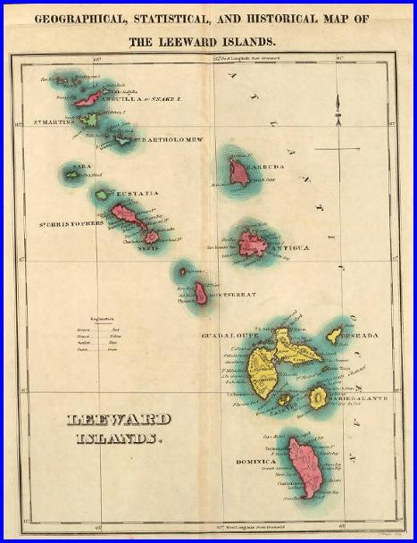 Where Is Leeward Islands A Map